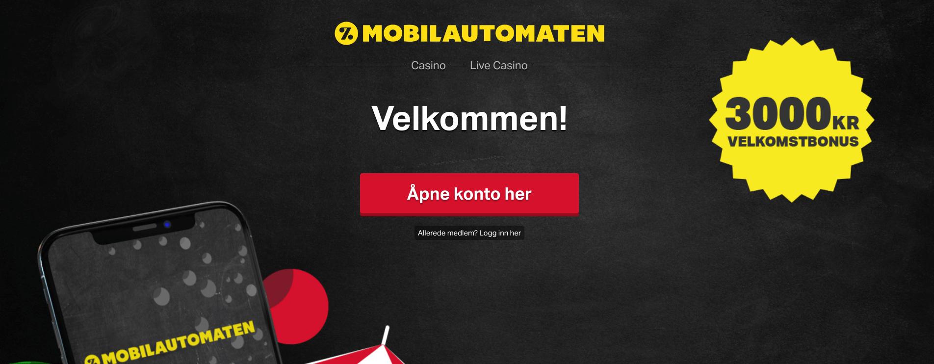 casino med siru mobilautomaten gratis bonus for casino på nett