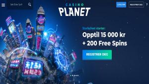 Casino Planet anmeldelse